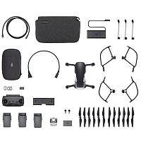 Mavic Air Fly More Combo (Onyx Black, черный) (EU) DJI Квадрокоптер